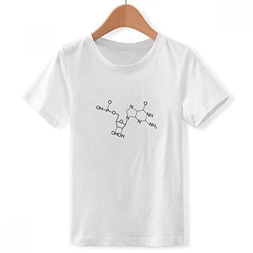 DIYthinker Tripulación Cuello Estructura ilustración Molecular química...