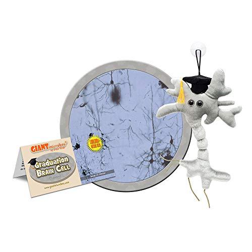 Giantmicrobes - Peluche Microbio gigante - Versión llavero Key Ring Célula...