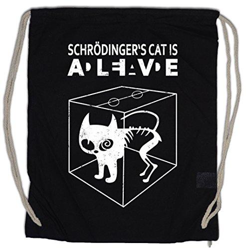 Urban Backwoods SCHRÖDINGER´S Cat IS Alive Dead II Bolsa de Cuerdas con...