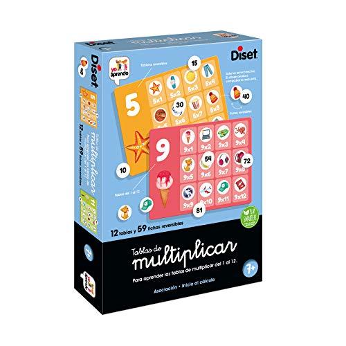 Diset, Tablas de multiplicar, Juego Educativo para Aprender a multiplicar a...