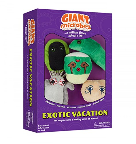 Giantmicrobes Themed Gift Boxes - Exotic Vacation by Giant Microbes