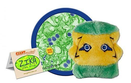 GIANTmicrobes Zika (Zika Virus) Plush Toy by Giant Microbes