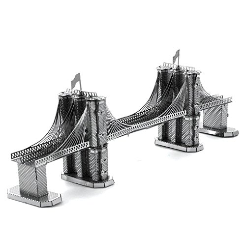 Metal Earth - Maqueta metálica Puente de Brooklyn , color/modelo surtido