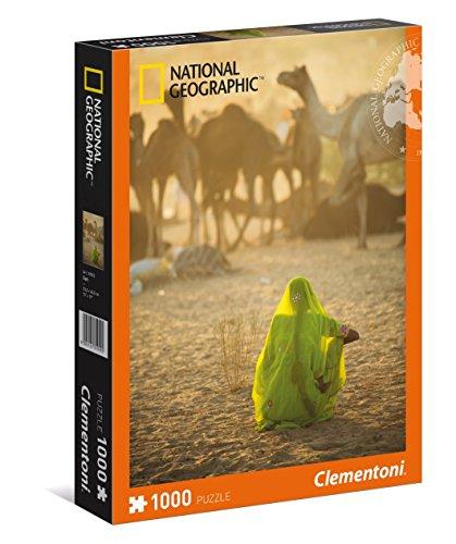 Clementoni - Puzzle de 1000 Piezas, National Geographic, diseño Sari (393022)