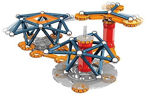 Geomag- Mechanics Motion 762 Juego de construcción magnético de 146 Piezas,...