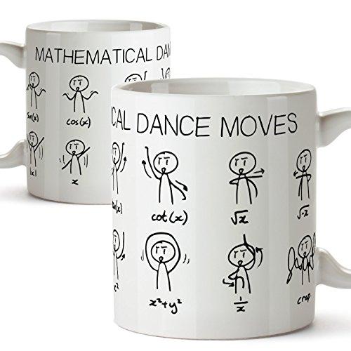 MUGFFINS Tazas de Desayuno Original para Regalar a matemáticos - Regalo para...