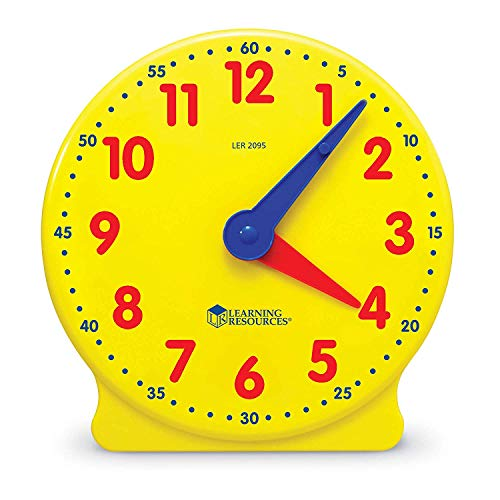 Learning Resources- Reloj para los Alumnos Big Time Student Learning Clock,...