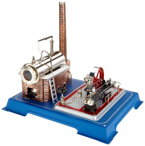 Wilesco D16 - Maqueta de máquina de Vapor (Capacidad de Caldera 250 ml, Incluye...