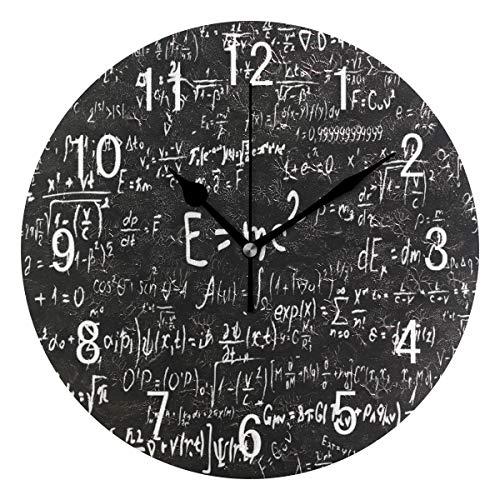 Use7 Home Decor Scientific Fórmulas Físicas Matemáticas Redondo Acrílico...
