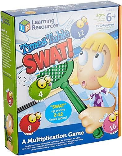 Juego para Practicar Las Tablas de multiplicar con matamoscas de Learning...