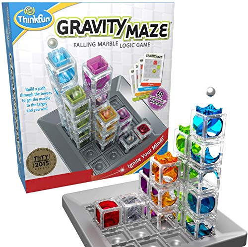 ThinkFun Think Fun Gravity Maze (763399), Multicolor (RAVENSBURGER