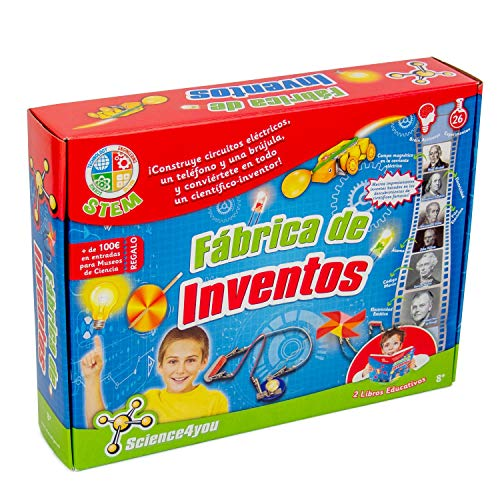 Science4you-5600983600225 Fábrica de Inventos, Juguete Educativo y Científico...