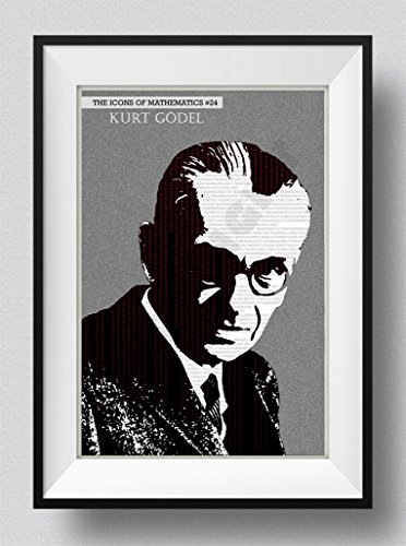 Póster del Matemático Kurt Gödel