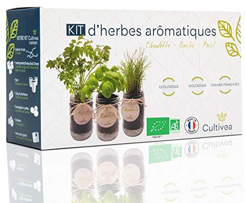 Cultivea Kit completo de hierbas - Kit completo de hierbas - Cultiva tus propias...