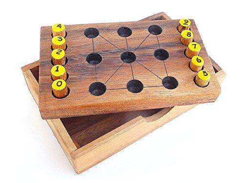 Logica Juegos Art. Magia de los Numeros - Rompecabezas de Madera - Dificultad...