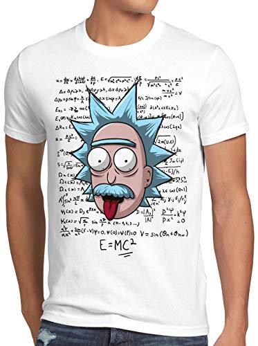 A.N.T. Rick Einstein Camiseta para Hombre T-Shirt teoría de la relatividad,...