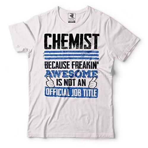 Silk Road Tees Químico de la Camiseta de los Hombres Divertidos de la química...