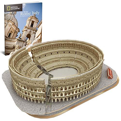 World Brands Cubic Fun-Puzzle 3D City Traveller del Coliseo Romano, National...