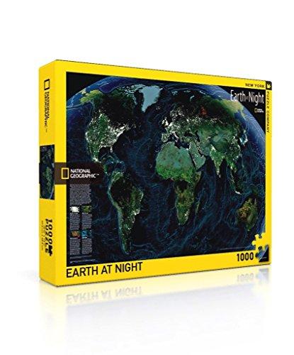 Earth at Night - NYPC National Geographic colección Puzzle 1000 Piezas