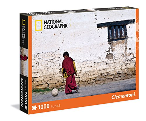 Clementoni - Puzzle de 1000 Piezas, diseño Young Buddhist Monk (39355.8)
