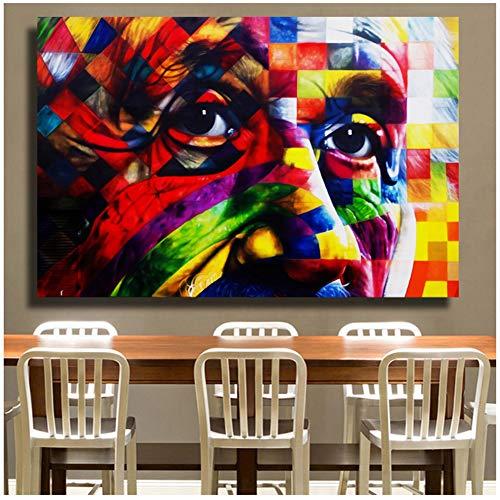 Cuadros Albert Einstein Retrato Pintura sobre lienzo Pinturas murales Cuadros de...