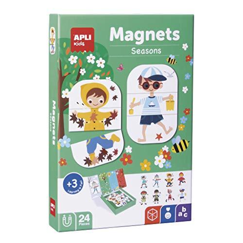 APLI Kids- Estaciones Juego Magnético, Multicolor (17160)