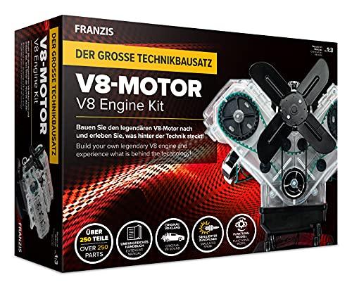 Der große Technikbausatz V8-Motor: Baue den legendären V8-Motor nach und...