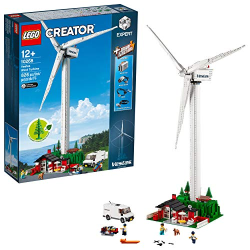 LEGO Creator Aerogenerador Vestas - Maqueta de juguete de molino de viento...