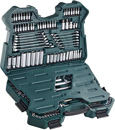Mannesmann M98430 - Maletín con llaves de vaso y otras herramientas (215...