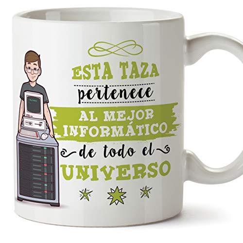 MUGFFINS Informático Tazas Originales de café y Desayuno para Regalar a...