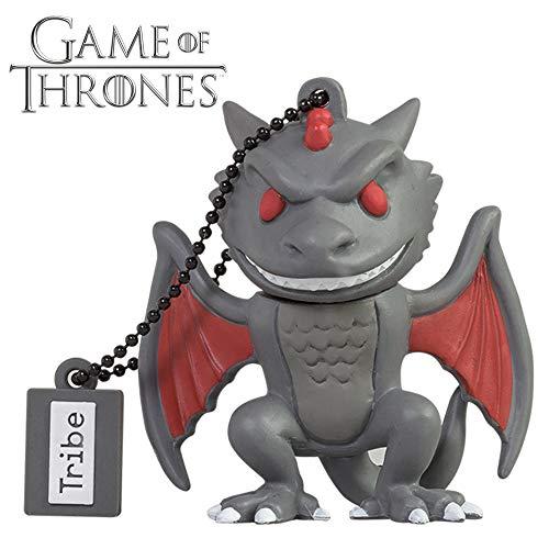 Llave USB 16 GB Drogon - Memoria Flash Drive 2.0 Original Game of Thrones, Tribe...