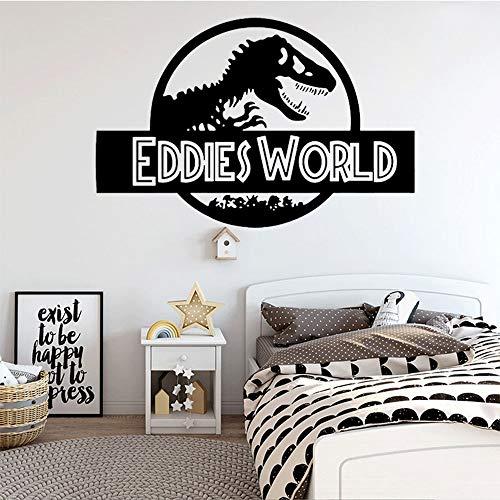 BLOUR Pegatinas de Pared de Dinosaurio decoración de habitación de niños...