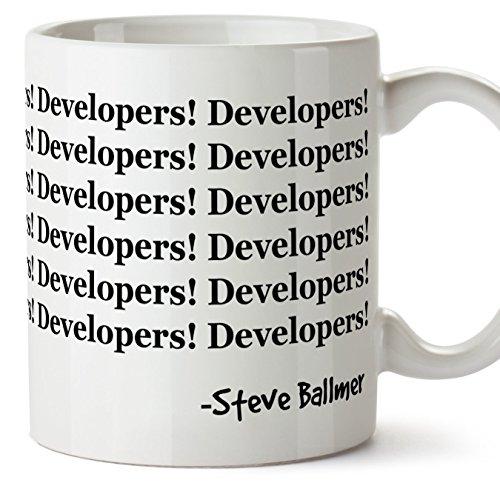 Tazas de desayuno original para regalar a programadores - Developers!...