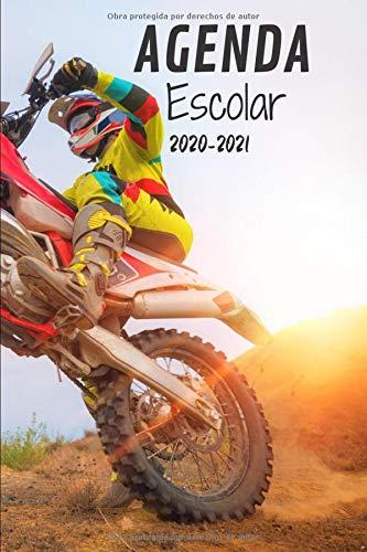 Agenda Escolar 2020-2021: Agenda Motocross   primaria Colegio secundaria...