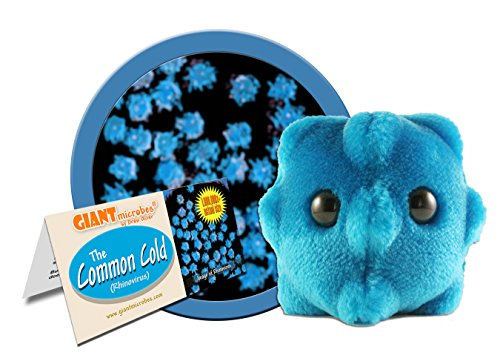 GIANTmicrobes - Peluche resfriado común (Rhinovirus)