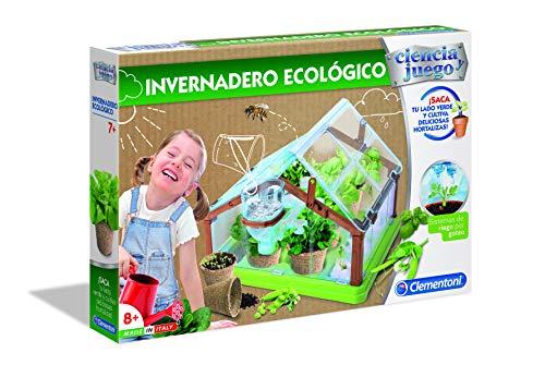 Clementoni-55375 - Invernadero Ecológico - juego científico a partir de 7...