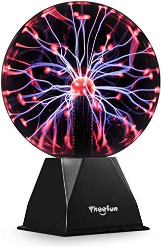20cm Bola de plasma mágica, Bola luminosa Theefun Bola electrostática Bola de...