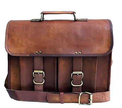 38 Cm Bolso Bandolera Laptop Bag Bolsa De Hombro Cuerpo Cruzado Grande para...