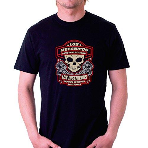 Custom Vinyl Camiseta Los mecánicos existen Porque los Ingenieros también...
