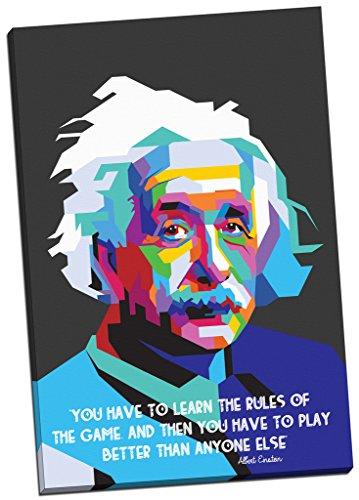 Lienzo de Albert Einstein con frase de impresión de lienzo decorativo tamaño...