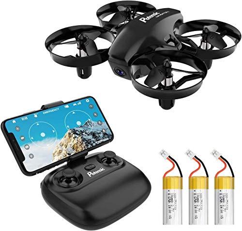 Potensic Mini Drone con Cámara, RC Quadcopter 2.4G 6 Ejes - Diseño Trayectoria...