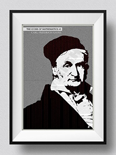 Póster del matemático Carl Friedrich Gauss