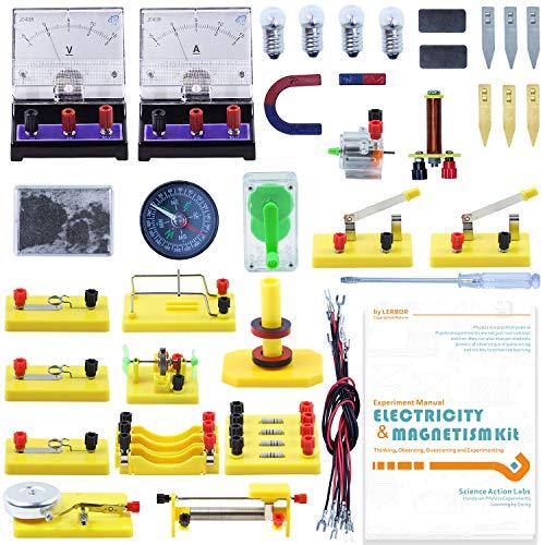 Teenii CTIM Laboratorio de Física Kit de Aprendizaje Básico de Circuitos...