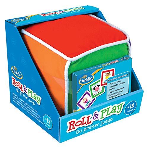 ThinkFun 76322 Roll & Play, Juego Educativo para Bebes, Edad Recomendada +18...