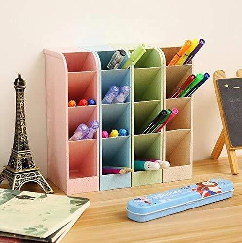 Organizador de escritorio para lápices, cajitas de almacenamiento para...