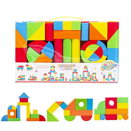 deAO Bloques de Construcción Gomaespuma Juguete para Aprendizaje Creativo...