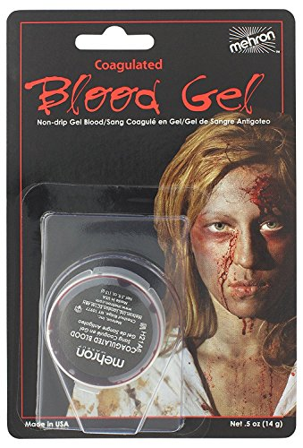 Mehron–Maquillaje falso sangre coagulé profesional disfraz 14G & 28G...