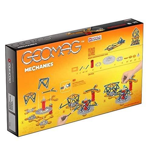 Geomag Mechanics Construcciones magnéticas y juegos educativos, 146 Piezas...