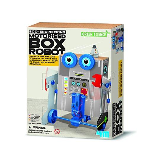 4M- Green Science Robot Inteligente, Multicolor (00-03389)