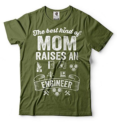 Silk Road Tees Ingeniero mamá Camiseta Ingeniero Regalo de la Madre tee Camisa...